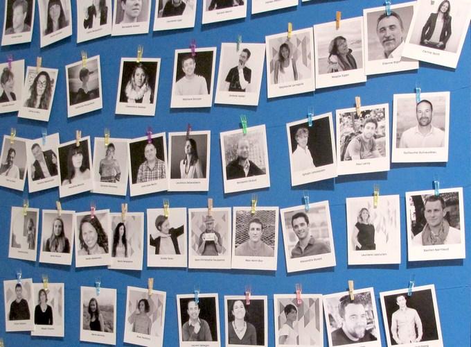 gallerie de portraits de télé-travailleurs